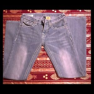 A pair of true religion women jeans